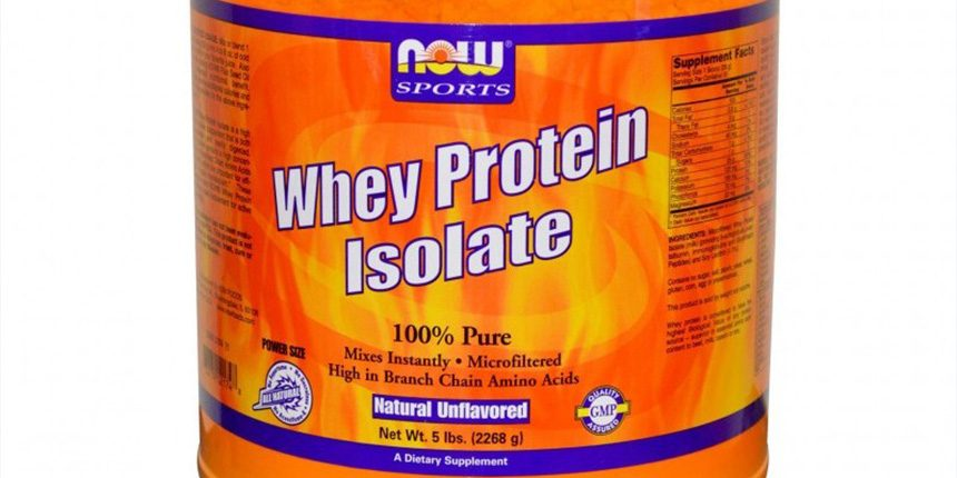 Whey Protein Isolate на NOW Sports