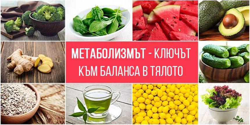 Метаболизмът – ключ към баланса в тялото